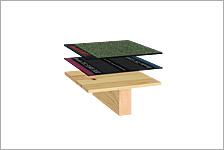 Holzbau flachdach detail  Aufbau auf Holz | Flachdachsystemlösungen